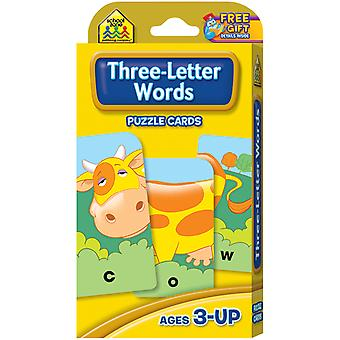 Game Cards Three Letter Words Szgame 5027