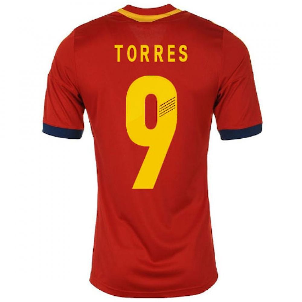 2013-14 Spania hjem skjorte (Torres 9) - barn
