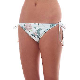 Ted Baker Swimwear Allso Distinguishing Rose Tie Side Bikini Pant