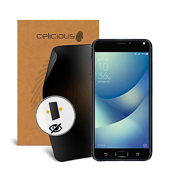 Celicious Privacy Asus Zenfone 4 Max (ZC520KL) 2-Way Visual Black Out Screen Protector