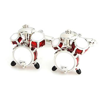 Music Drum Party Novelty Cufflinks Wedding Gift Smart Musician Play Fashion
