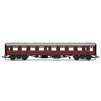 Hornby RailRoad BR Mk1 Tourist Second Open Coach - BR Maroon