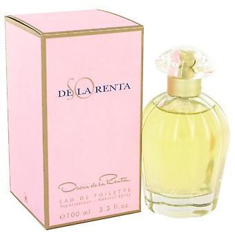 So De La Renta Eau De Toilette Spray By Oscar de la Renta