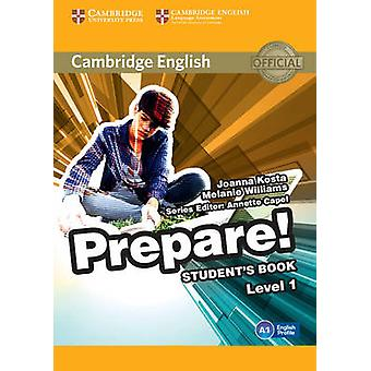 Cambridge English Prepare par Joanna Kosta