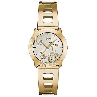 s.Oliver women's watch wristwatch stainless steel SO-1957-MQ