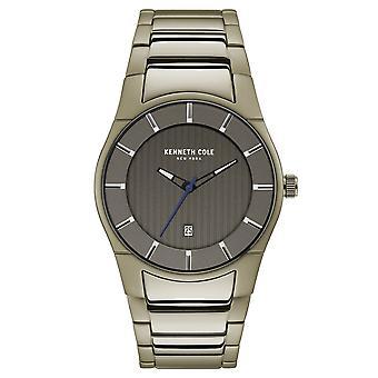 Muñeca reloj analógico de cuarzo acero inoxidable de Kenneth Cole New York hombres KC15103013