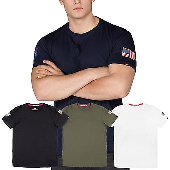 Camiseta alfa industrias NASA