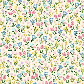 American Crafts Floral Single-Sided Cardstock 12