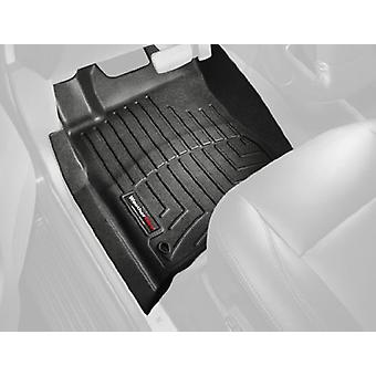WeatherTech Custom Fit Front FloorLiner voor Toyota Yaris/Scion xD (zwart)