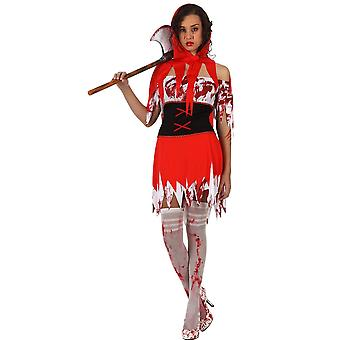Women costumes  Little Red Riding Hood costume with blood