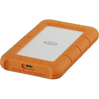 LaCie Rugged Mobile Drive 2.5 external hard drive 1 TB Silver, Orange USB-C™