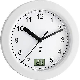 TFA 60.3501 Radio Wall clock 17.5 cm x 5.5 cm White Suitable for bathrooms/wet rooms