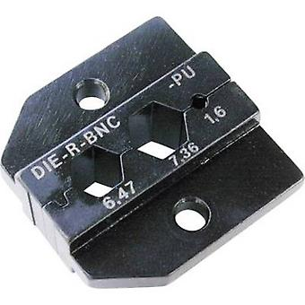 Crimp inset Neutrik DIE-R-BNC-PU Black 1 pc(s)