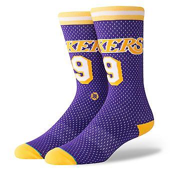 Stance Lakers 94 HWC NBA Socks - Purple