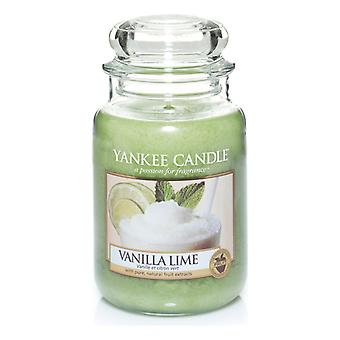 Yankee Candle Large Jar Candle Vanilla Lime Classic 623g