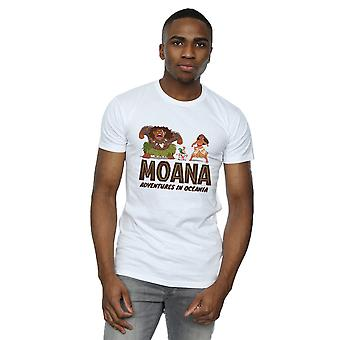 Disney Men's Moana Adventures in Oceania T-Shirt