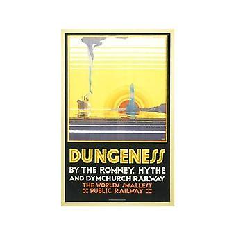 Dungeness Кент (старый железнодорожный Н.э.) Холодильник магнит