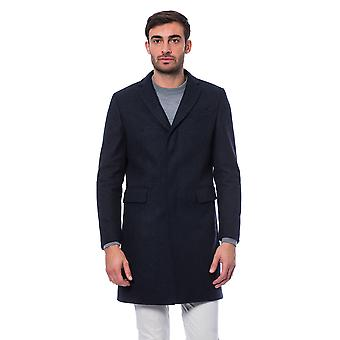 Coat Blue Induno Olona Trussardi Collection Man