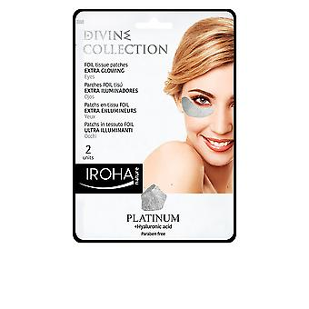 Iroha Platinum Tissue Eyes Patches Extra Glowing 2 Pcs For Women