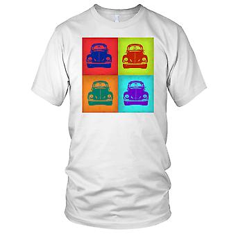 VW Beetle Pop Art Design Mens T Shirt