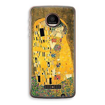 Motorola Moto Z Force Transparent Case (Soft) - Der Kuss