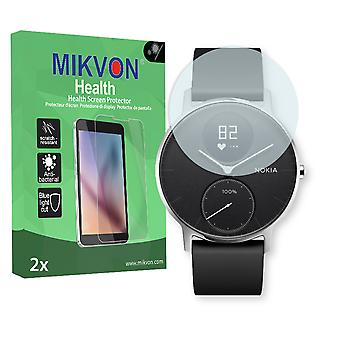 Nokia Steel HR 40mm Screen Protector - Mikvon Health (Retail Package with accessories)