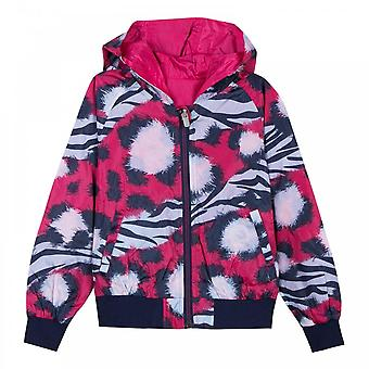 Kenzo Juniors Dinah Reversible Windbreaker Jacket (Fuchsia)