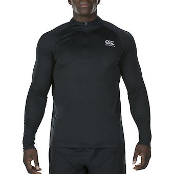 Canterbury Mens Vapodri 1st Layer Zip Wicking Baselayer Top
