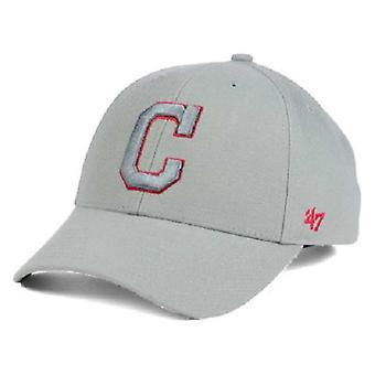 Cleveland Indians MLB 47 Brand Gray Pop Adjustable Hat