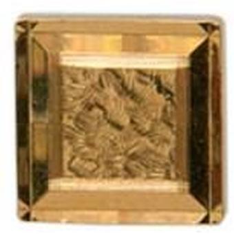 David Van Hagen diamante quadrado Tie TAC - ouro