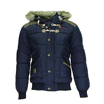 GEOGRAPHICAL NORWAY winter parka mens winter jacket Navy