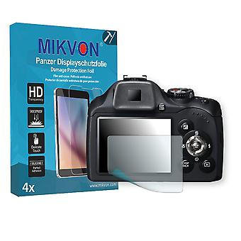 Fujifilm FinePix SL300 Screen Protector - Mikvon Armor Screen Protector (Retail Package with accessories)