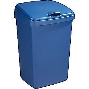 Sunware Delta afvalbak 50ltr klep blauw