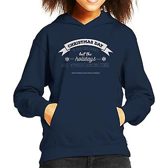 Christmas Day Magnificient Ambersons Quote Kid's Hooded Sweatshirt