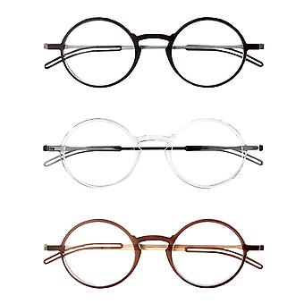 ThinOptics Front-Page Manhattan Reading Glasses with Milano Case