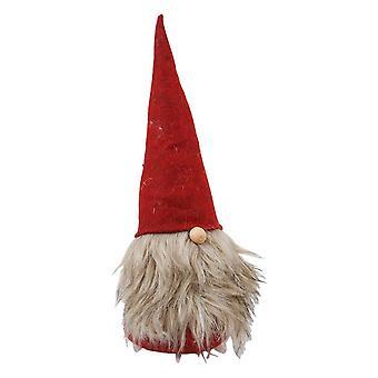 Textil de Claus rojo/gris 44 cm