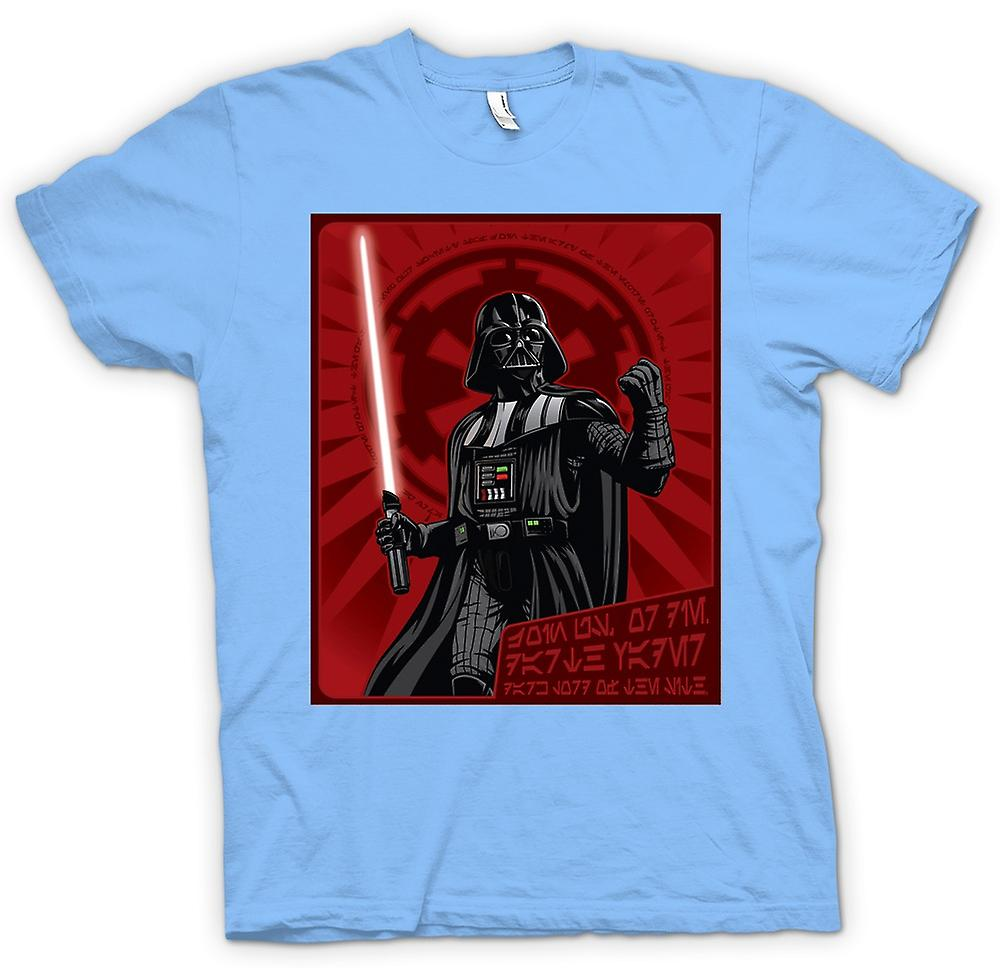 Mens t-skjorte - Darth Vader - Star Wars - japansk
