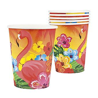 Unique Party Hawaiian Aloha 7oz Cups (Pack of 6)