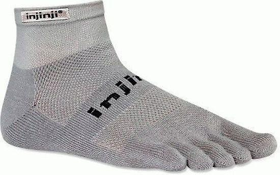 Injinji Run 2.0 Original Weight Mini Crew Toesocks