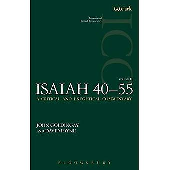 Isaiah 40-55 Vol 2 (ICC) (International Critical Commentary)