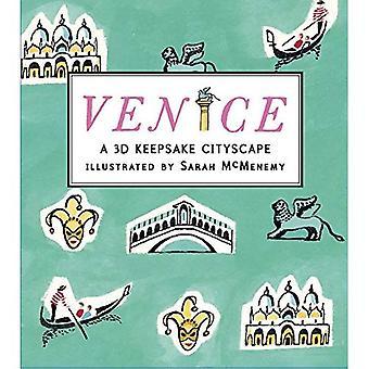 Venedig: Ein 3D Andenken Stadtbild (Andenken Stadtansichten)