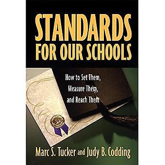 Normes pour nos écoles: comment définir eux, les mesurer et les atteindre
