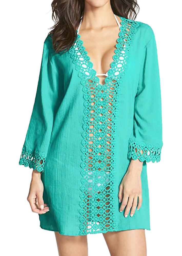 Waooh - Beach tunic with embroidery Soen