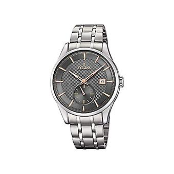Festina Mens Quartz analog watch with stainless steel band F20276/3
