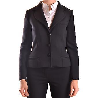 Dolce E Gabbana Black Polyester Blazer