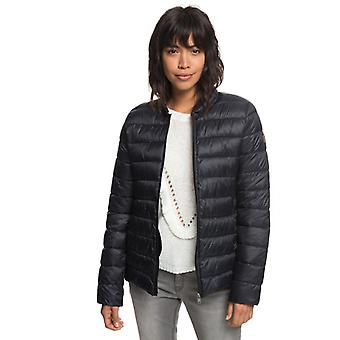 Roxy Womens Endless Dreamin Down Jacket - True Black
