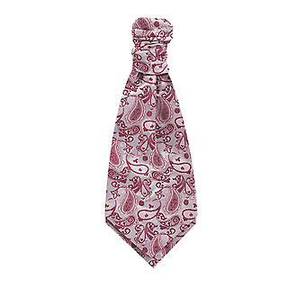 Dobell garçons Pink Paisley cravate soie préalablement attaché