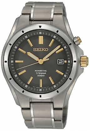 Seiko Mens Titanium Kinetic SKA495P1 Watch