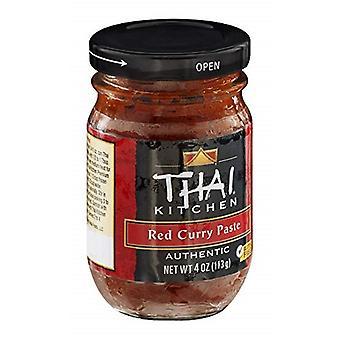 Thai køkken rød Curry pasta