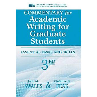 Commentary for Academic Writing for Graduate Students - Essential Task